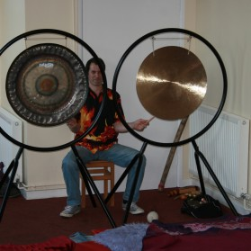 Tiverton monthly gong bath.