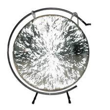 wind gong medium black